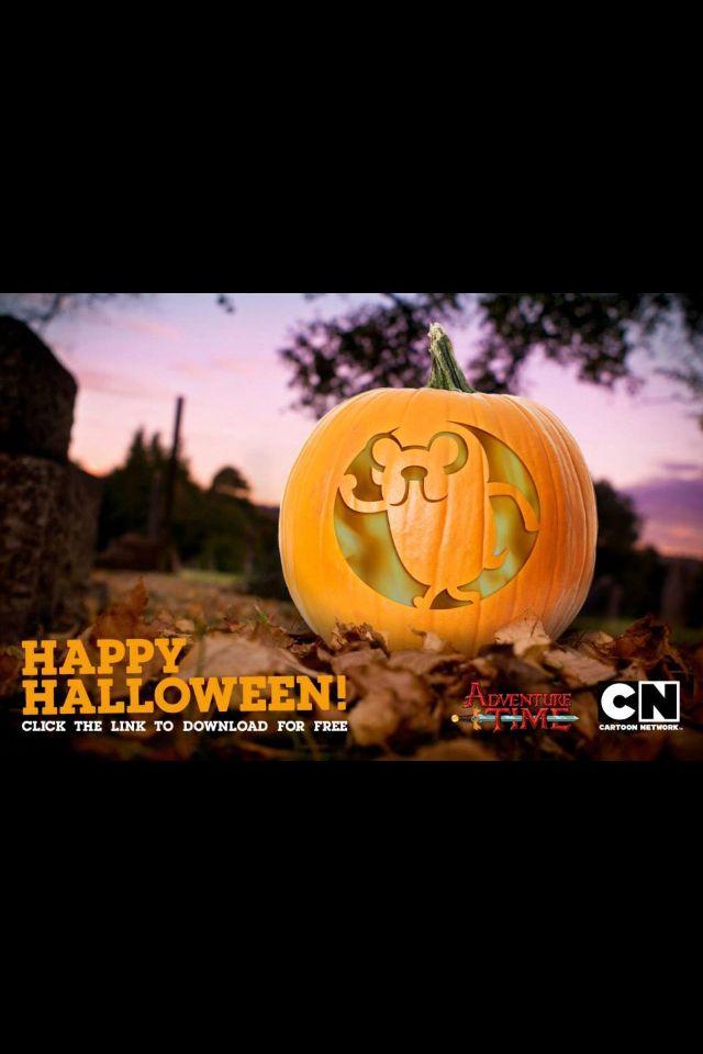 Adventure time jake pumpkin