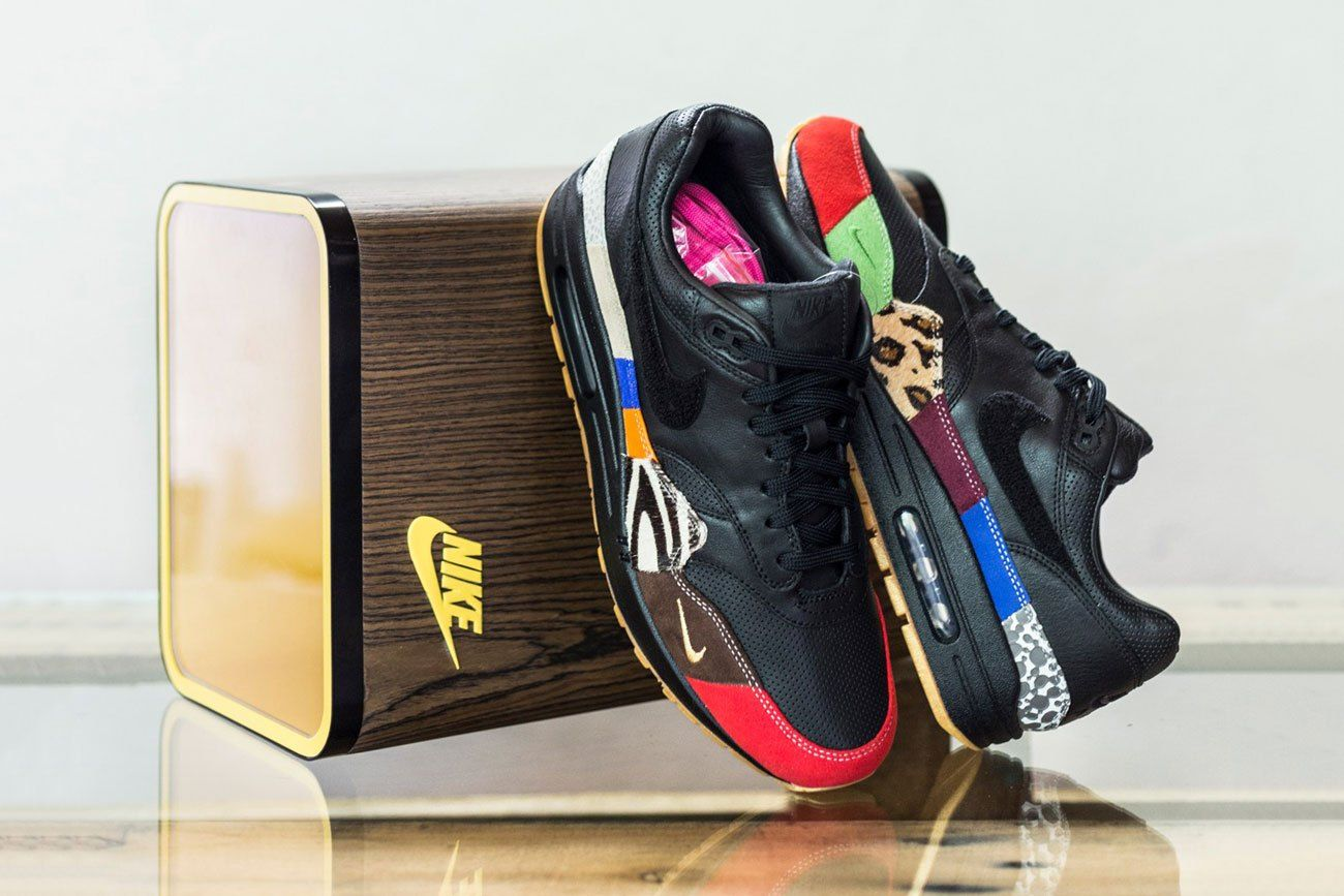 sports shoes 38bd7 e8314 ... discount the nike air max 1 master is featured with a custom wooden box  that is