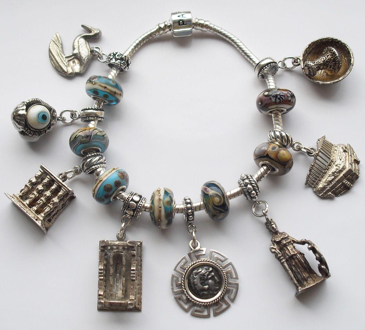 Greek Letters Pandora Bracelet
