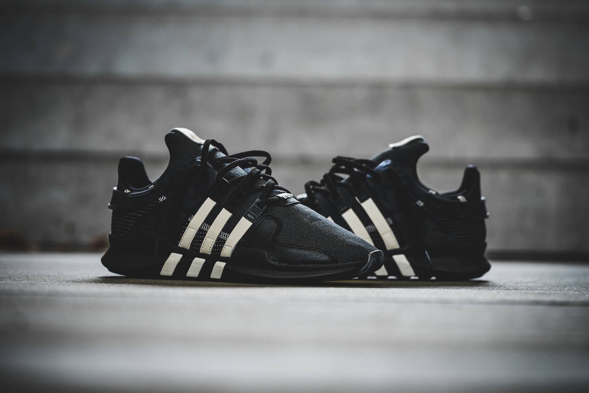 Adidas Equipment Advanced Black Green On feet Video at Exclucity