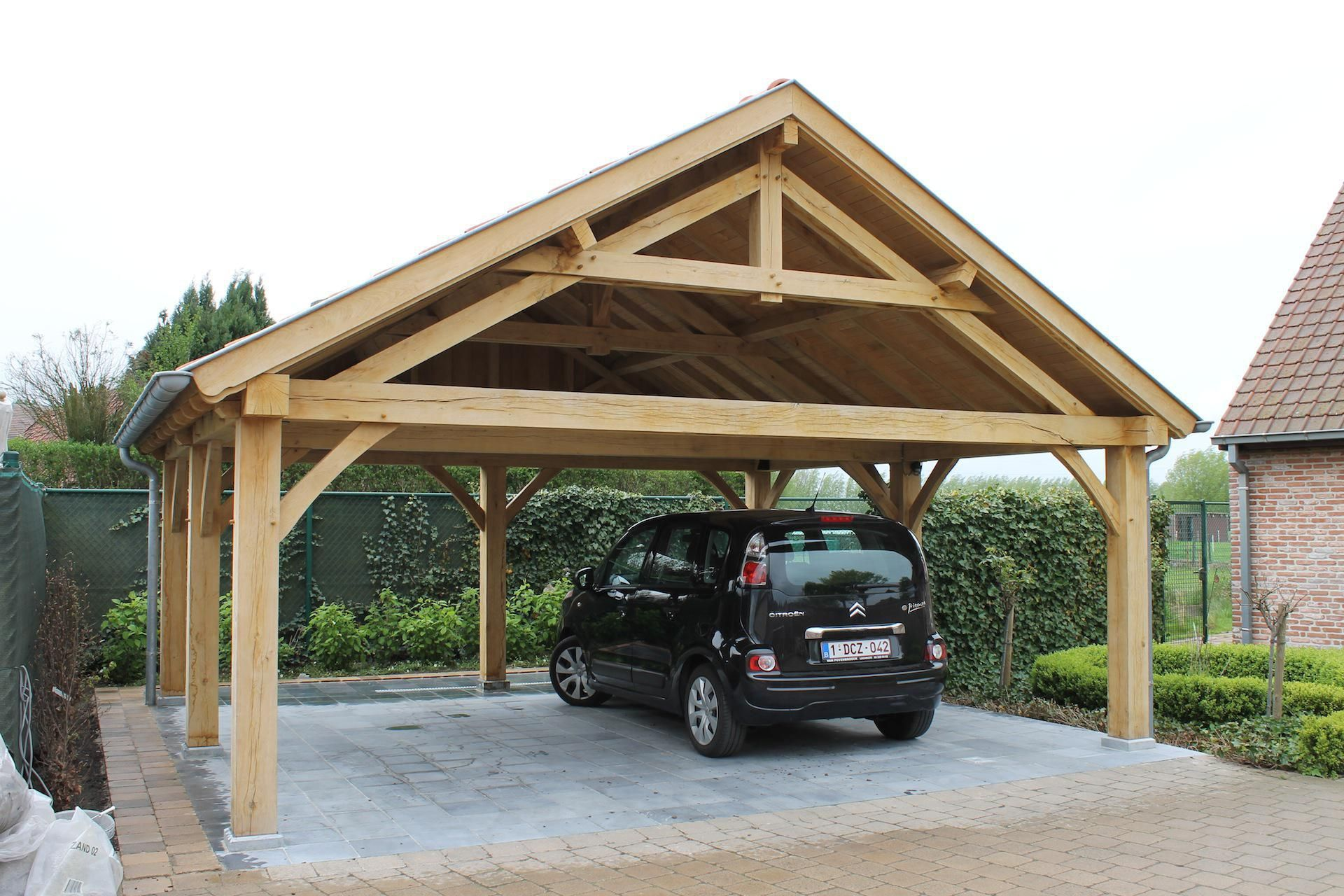 Wood carport designs best carports ideas new home for Carport garages