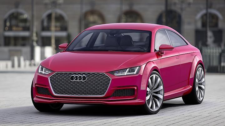Audi überträgt die Idee von A5 und A7 jetzt auch auf den TT.