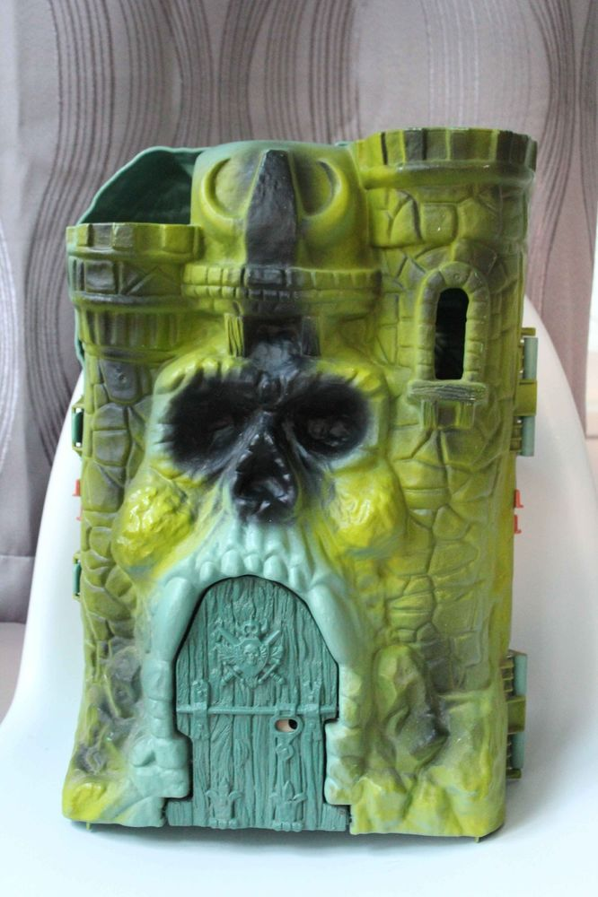 Masters of the Universe Grayskull Castle Playset Shell - Castle only Vintage