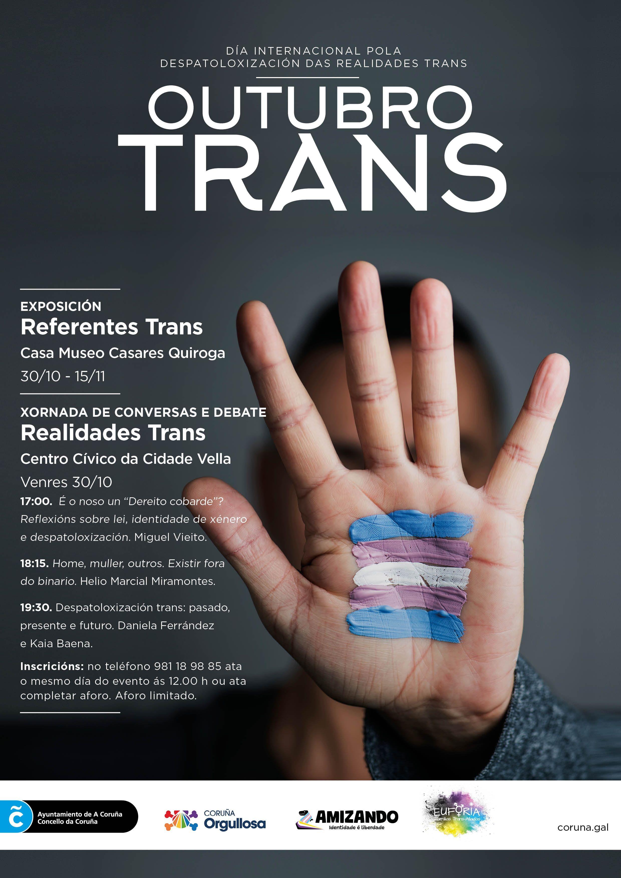 Exposición Referentes Trans - A Coruña