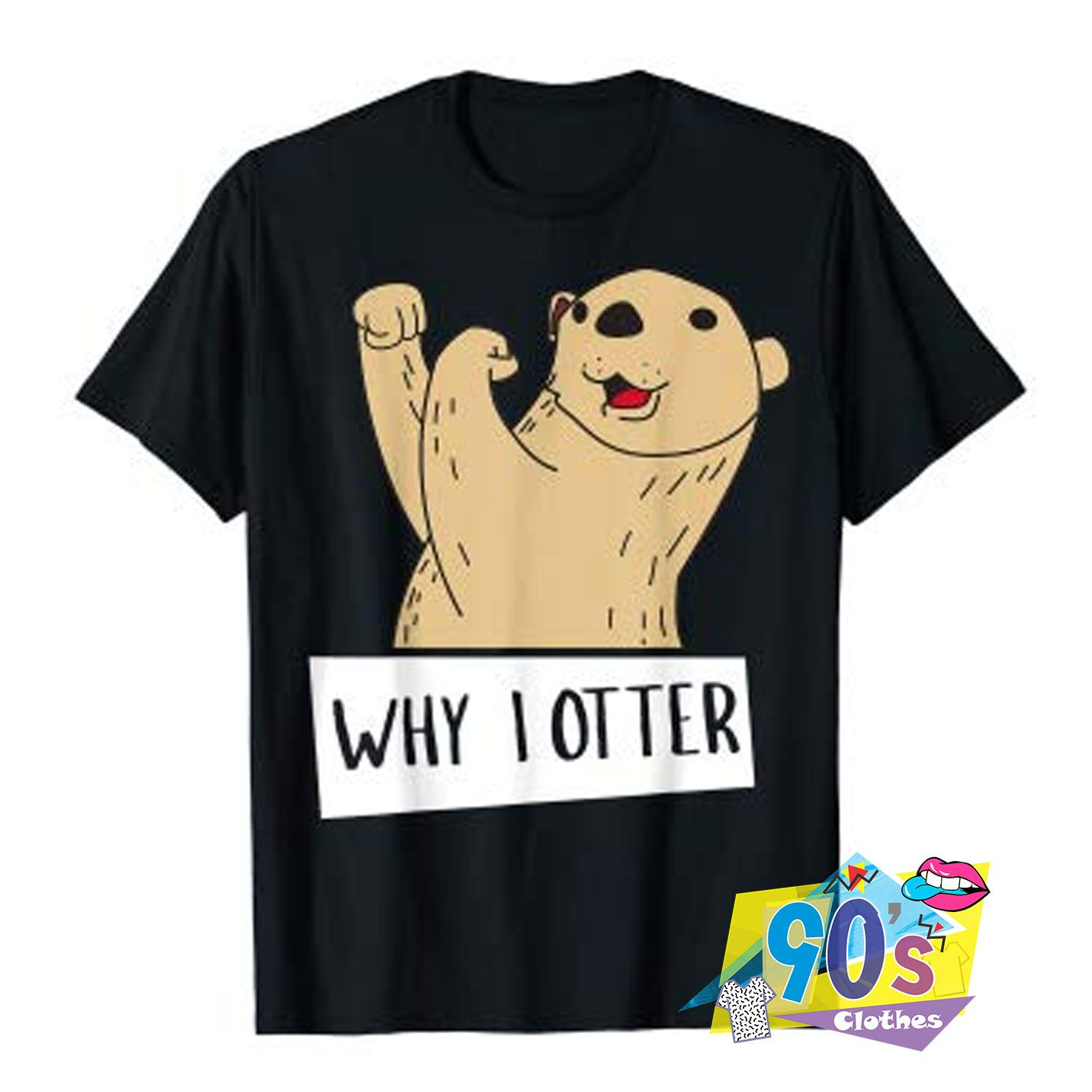 Funny Boxing Why I Otter T shirt #adventlustigerster