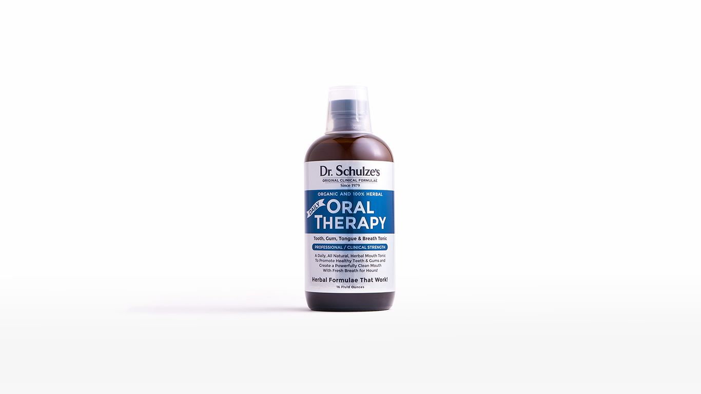Daily Oral Therapy Dr Schulze S Herbdoc Com Oral Hygeine Oral Care Dental Implants Cost