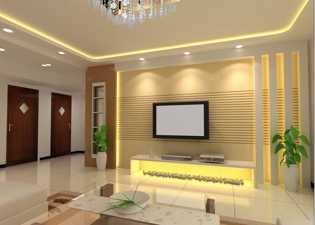 15 Perfect Gypsum Board For TV Wall Unit to Inspire You ...
