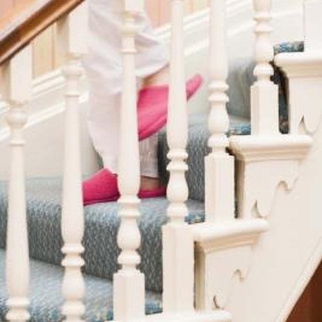 Best How To Paint Over A Varnished Banister Painted Banister 640 x 480