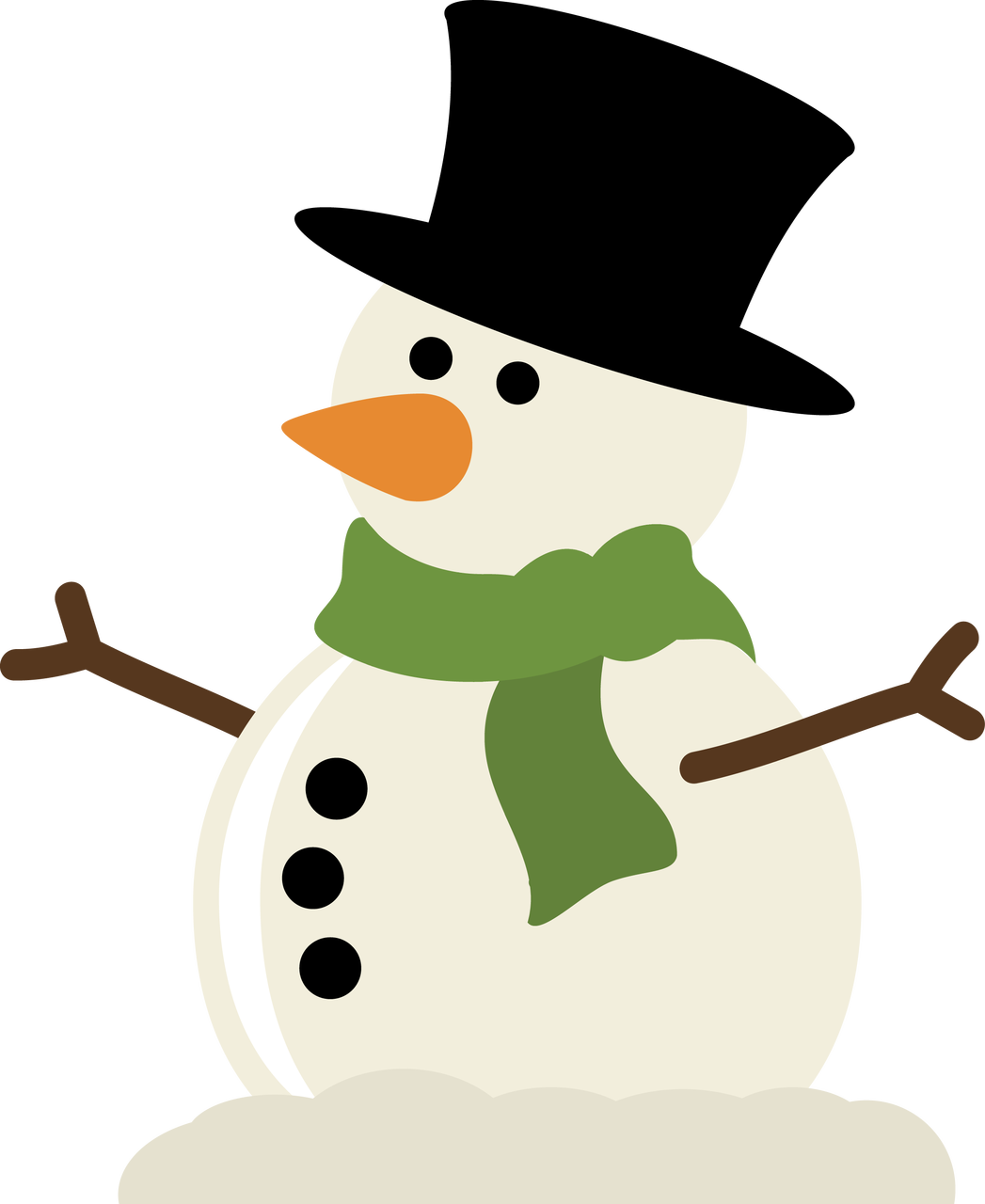 Cute Snowman SVG SVG cuttingfiles silhouetteamerica