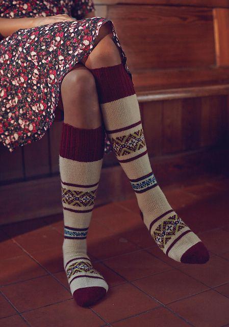 Ravelry Mountain Quail Socks Pattern By Stefanie Pollmeier To