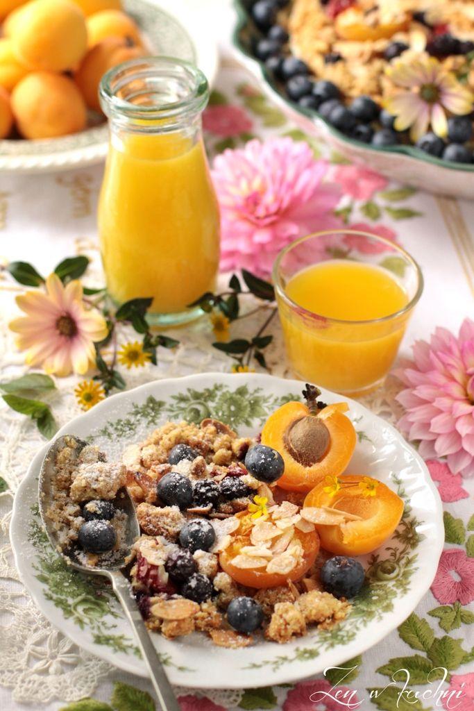 Śniadaniowa kruszonka podwójnie owocowa