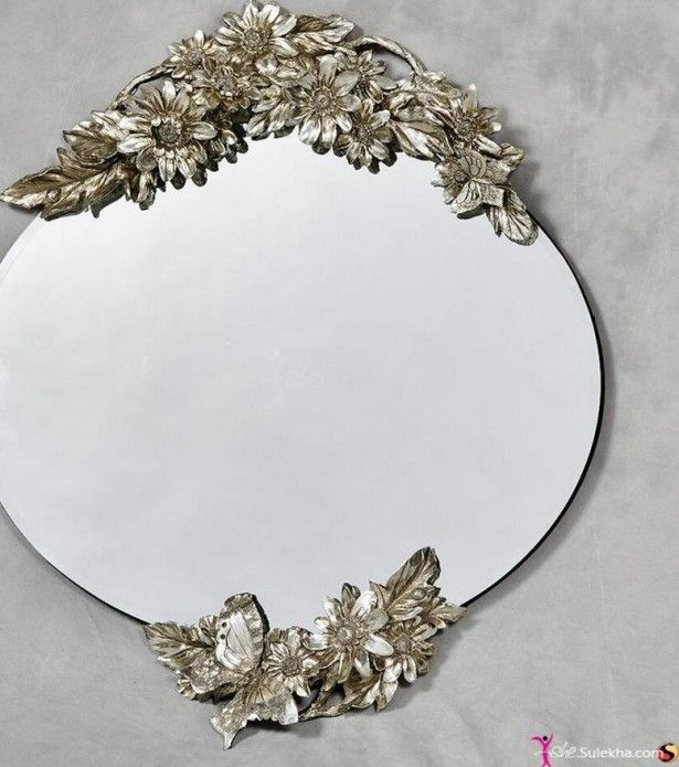 Amazing Decoration, Decorative Modern White Drawer And Unique Bedroom Mirror Nice  And Unique Mirrors By Opulent Design Ideas