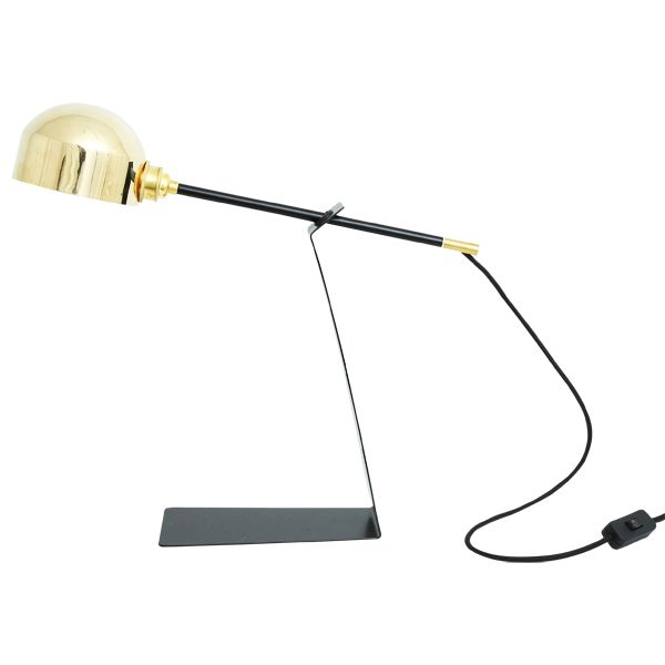 Kingston contemporary table lamp industrial desk lamp by mullan lighting mullan lighting design