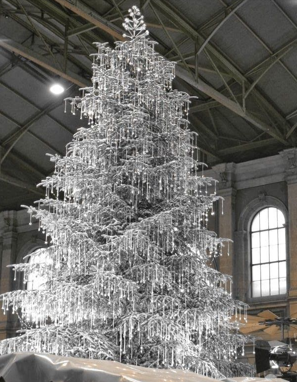 #Silver #Diamonds #Christmas #Deco #Tree  #Design #Fancy #Luxury #Glitter #Inspiration #Holidays