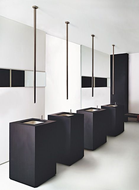 robinet fixer au plafond avec t l commande par gessi inspiration pinterest restaurant. Black Bedroom Furniture Sets. Home Design Ideas
