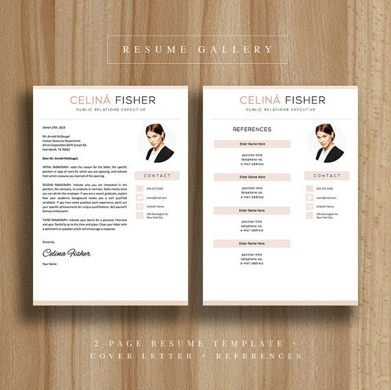 Creative resume template a4 and us letter cv template cover creative resume template a4 and us letter cv template cover letter ms word instant download modern resume design mac pc yelopaper Choice Image