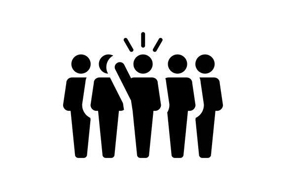 Leader, Leadership, Director Vector | Human icon, Icon, Leadership
