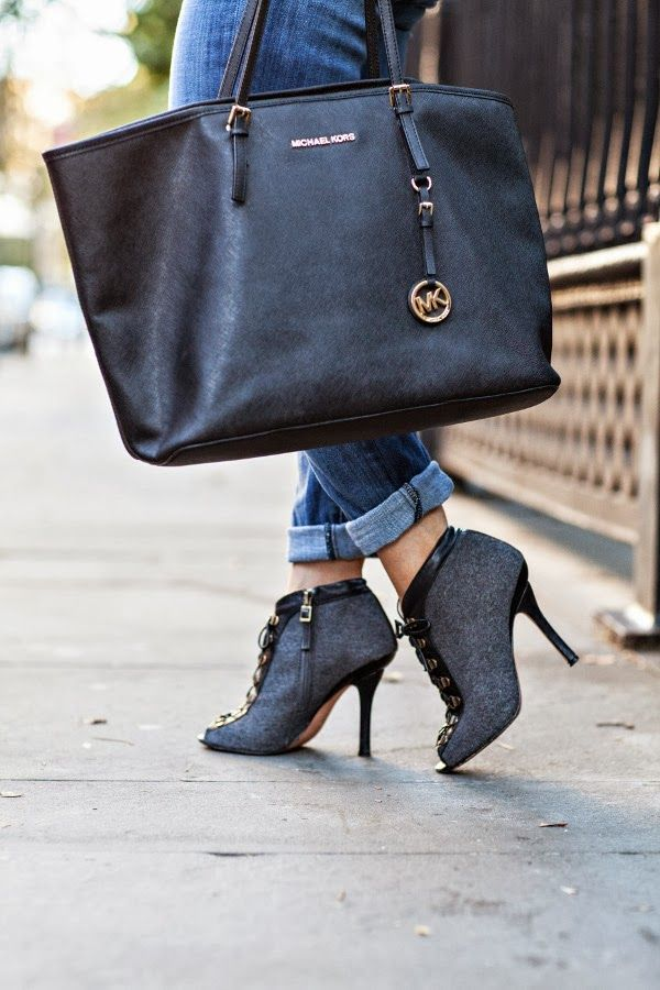 Corporate Catwalk - Fashion Blog: Thursday Night Football :: Boyfriend Jeans & Faux Leather Peplum