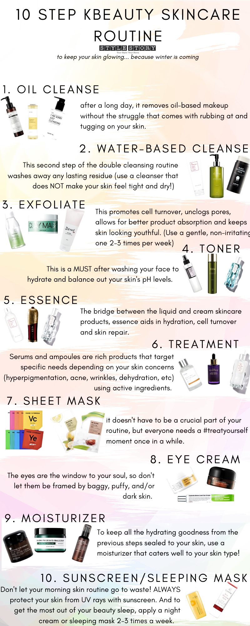 Everything You Need To Know About How To Apply Korean Beauty Products Kbeauty Routine Stylest K Beauty Routine Skin Care Routine Steps Korean Beauty Routine