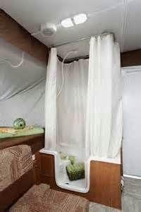 Pop Up Tent Trailers Bathroom Curtain Enclosure Camping Life