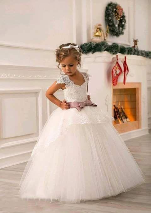 f4d45e614 Vestidos para niñas estilo princesa