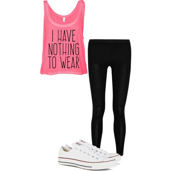 Untitled #130 by farah-i on Polyvore featuring Mover and Converse