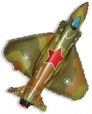 "Super Fighter Jet Foil Balloon militaire camouflage Jet 26/"" Foil Balloon"