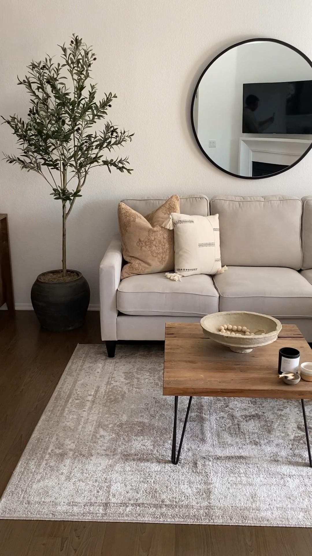 Photo of Neutral Living Room Styling