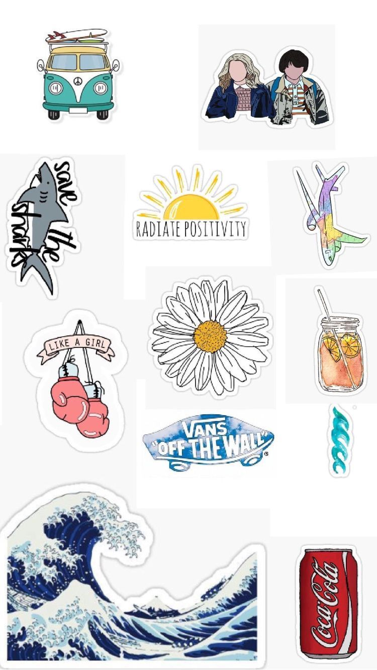Pin By S H A M On Stickers Aesthetic Stickers Tumblr Stickers