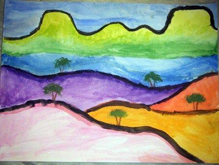 Klee Landscape