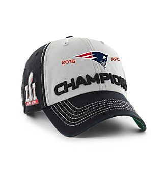 4a6317c09cd 47 Brand® NFL® New England Patriots AFC Conference Champions Hat ...