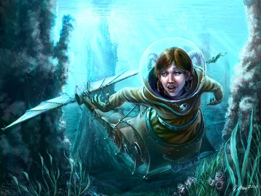 Underwater Explorer By Leo Lingas, ~judgefang On