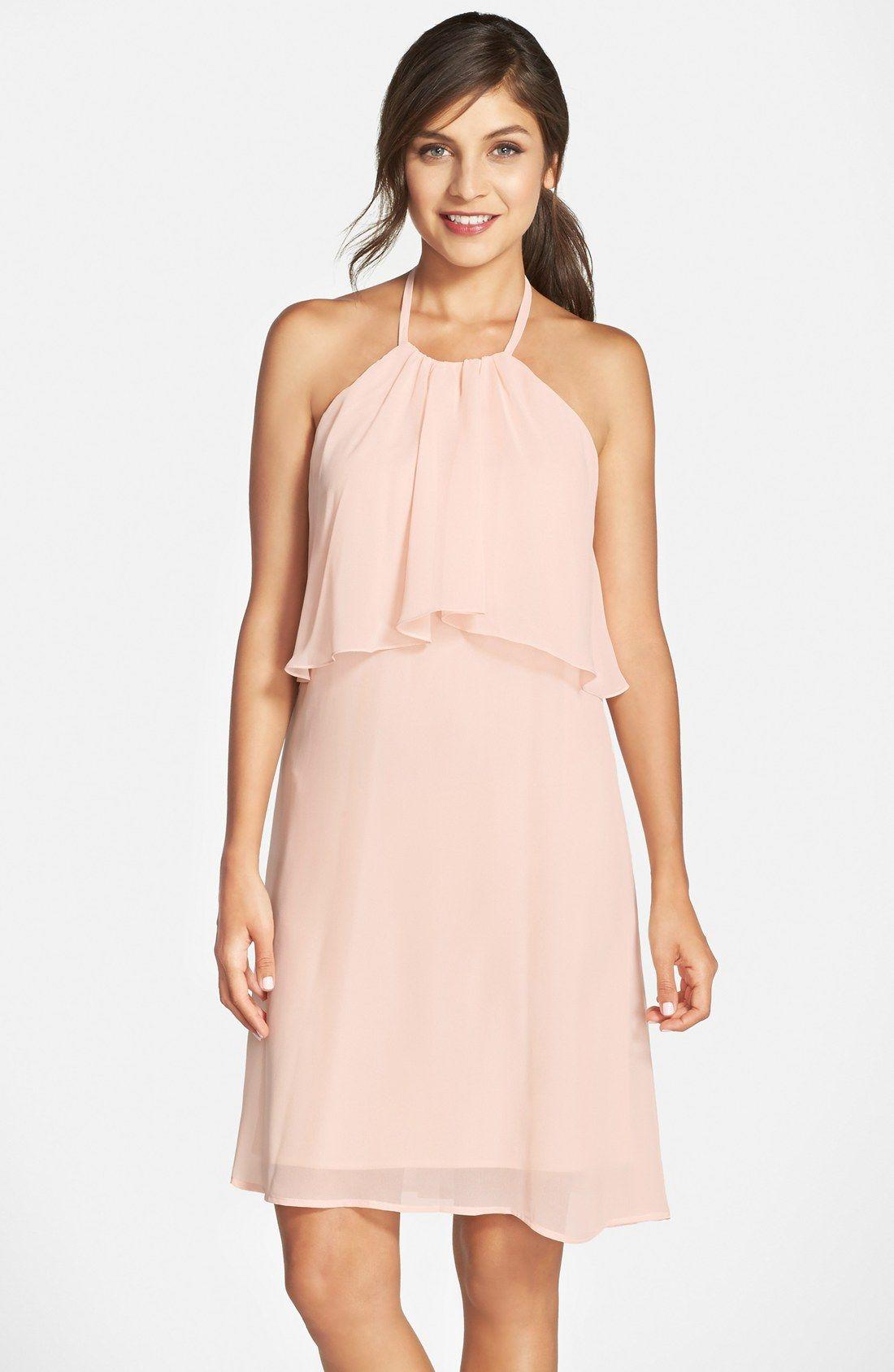nouvelle AMSALE Chiffon Halter Dress | для дела | Pinterest