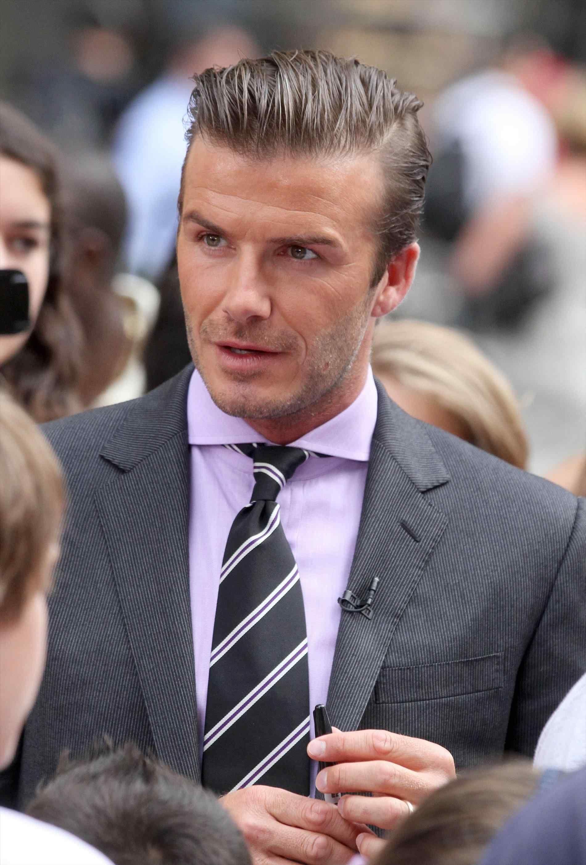 David Beckham Frisuren Beckham David Beckham Suit Beckham
