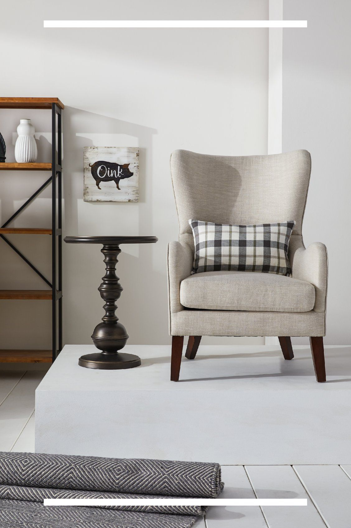 Give your space a comfy, lived-in look and feel with beautiful Farmhouse furniture and decor from Overstock!  #farmhouse #farmhousestyle #farmhouseideas #farmhousebedroom #farmhousedesign #decor #decorideas #homedecor #homegoods #homeideas #apartmentideas #furniture