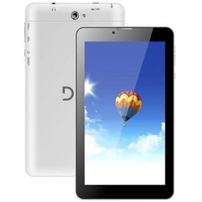 """Tablet DL TX-254 3G Dual Chip com Tela 7"""", 4GB, Wi-Fi, Android 4.2, Bluetooth, Câmera 2MP e Processador Dual Core de 1.3Ghz - Branco"""