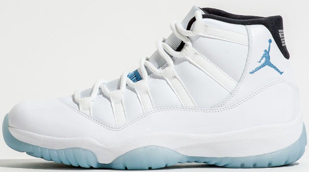Air Jordan 11 Retro White/Black-Legend Blue