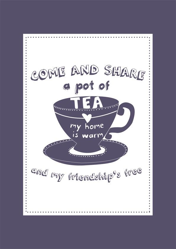 Discover and share Tea Friendship Quotes. Explore our collection of ...