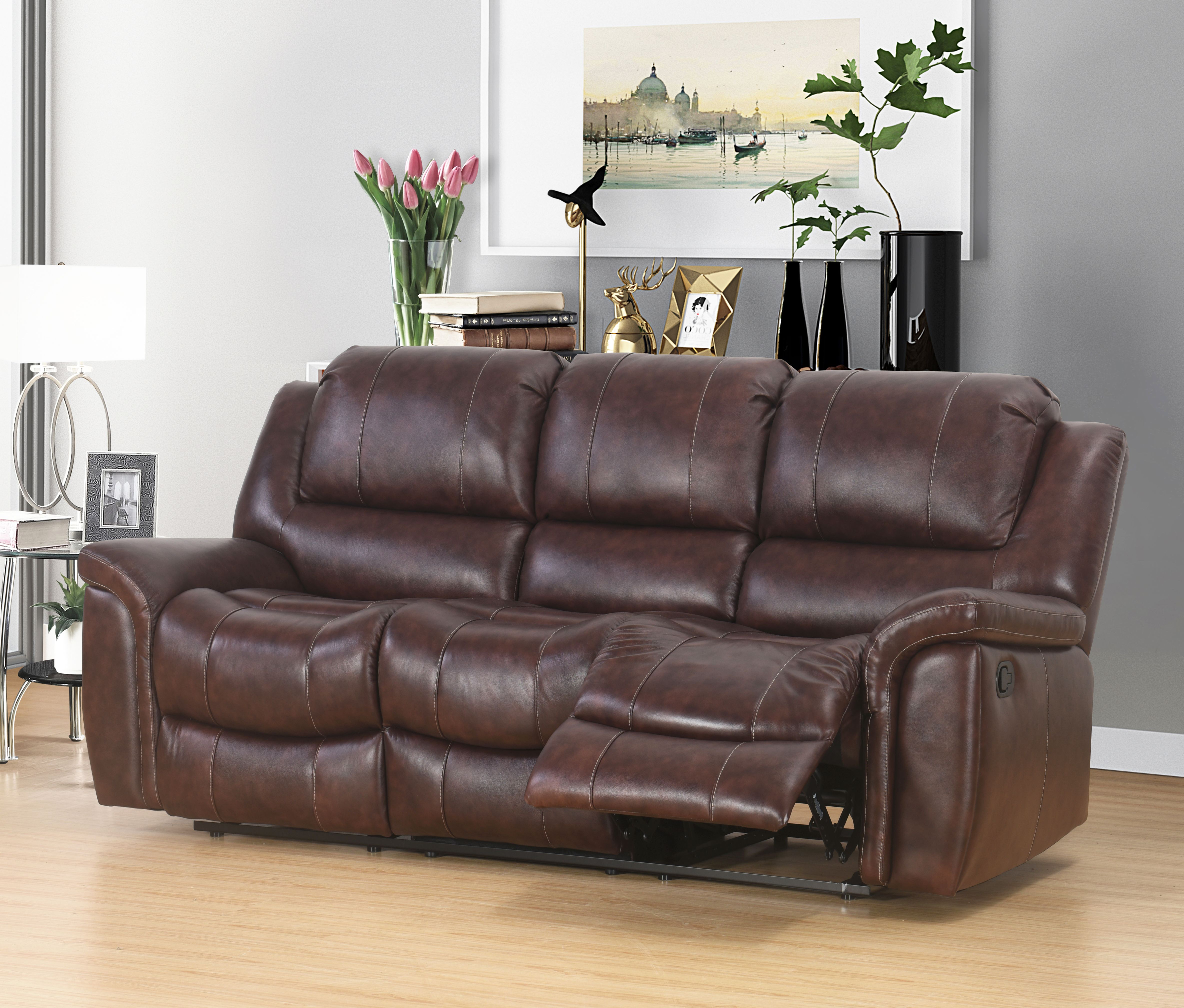 Home With Images Top Grain Leather Sofa Reclining Sofa Sofa