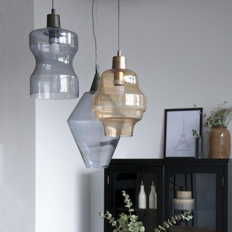 Únete a la nueva colección Kenay Home de lámpara de vidrio! Una gran