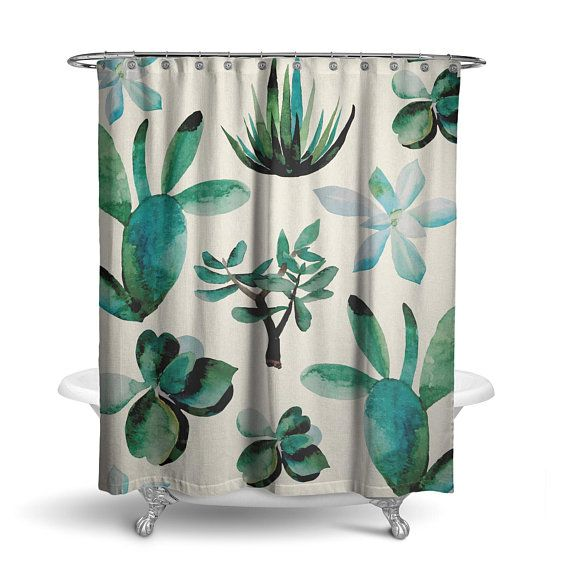 Awesome Beach Scene Shower Curtain Concept