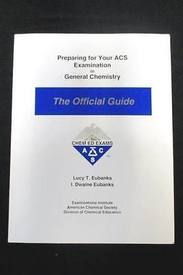 Preparing For Your Acs Examination In General Chemistry The Official Guide Chemistry Preparation Guide