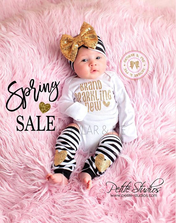 bfbf6fdedbe5f BABY GIRL coming home outfit, baby girl, newborn girl, going home outfit, coming  home baby girl, baby girl headband, newborn headband girl ⭐ BRAND ...