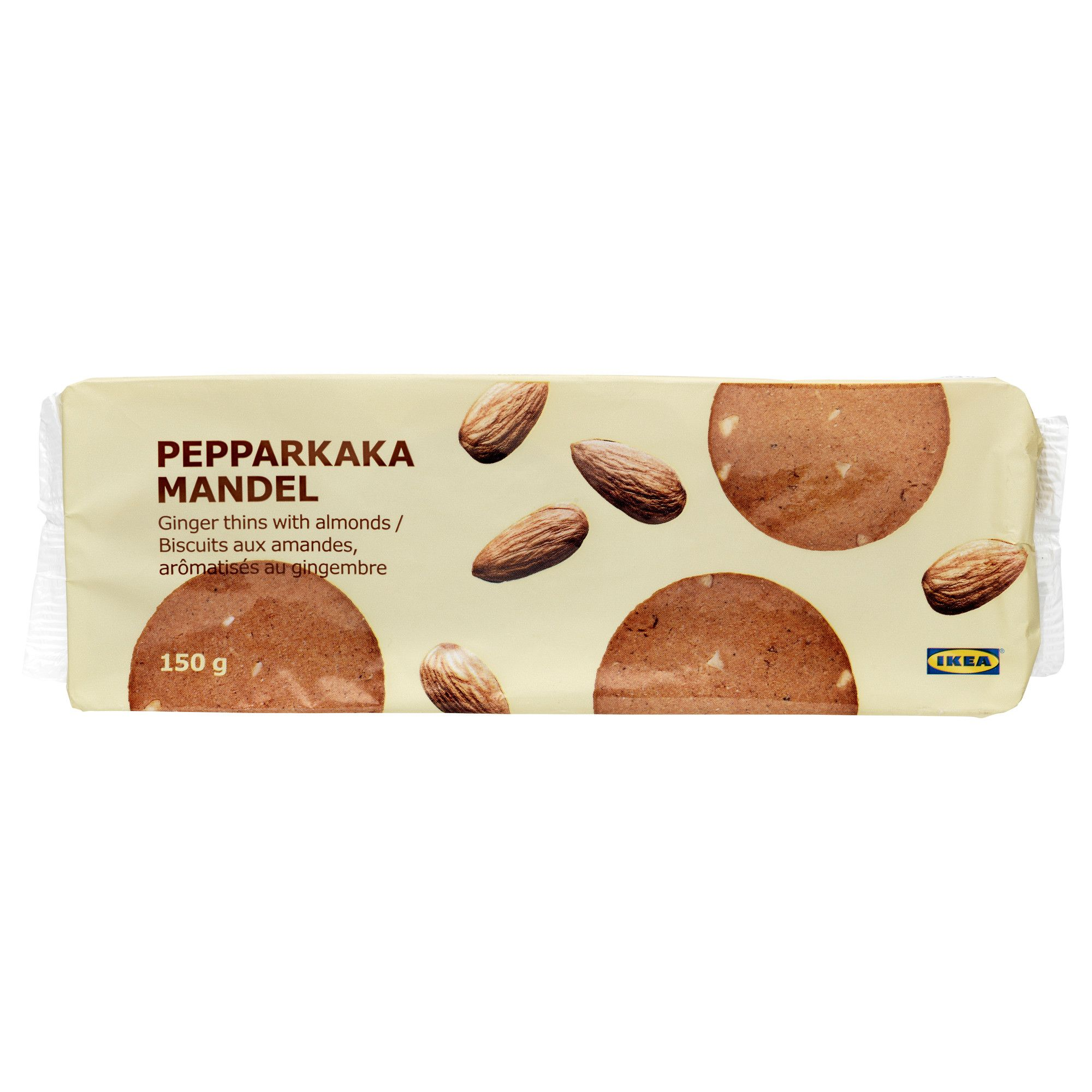 Ikea Pepparkaka Mandel Ginger Thins With Almond A Traditional