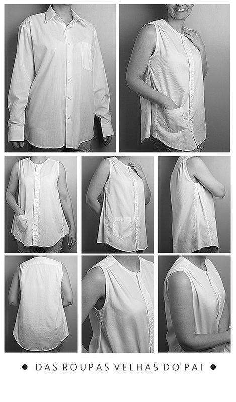 Das roupas velhas do pai | por miaumiau_bolsas                              …