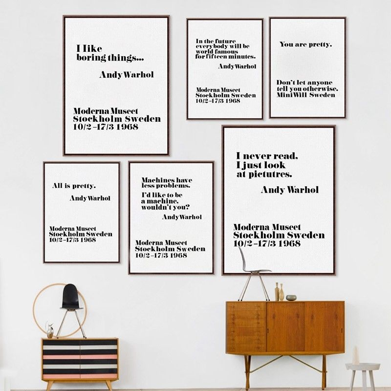 wall art print home decor quote Stockholm Gift