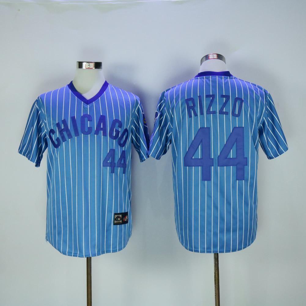 36ec68ffc6c Men Chicago Javier Baez Anthony Rizzo Kris Bryant Ryne Sandberg FLEX   Cool  Base Player Jersey camiseta mailloté