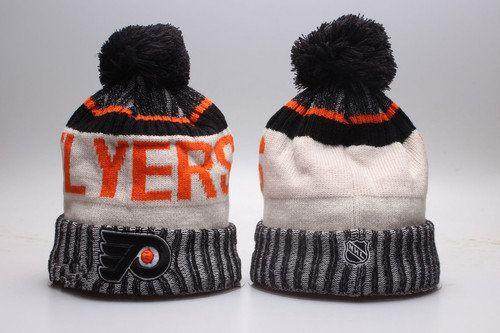 Philadelphia Flyers Winter Outdoor Sports Warm Knit Beanie Hat Pom ... 12954d09e1f3
