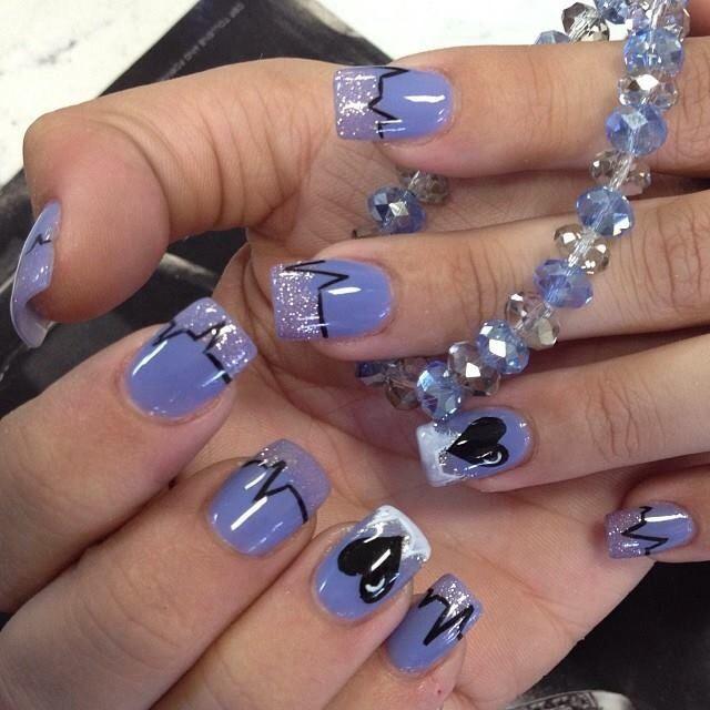 Nurse nails | Pretty Nails | Pinterest | Nurse nails, Makeup and ...