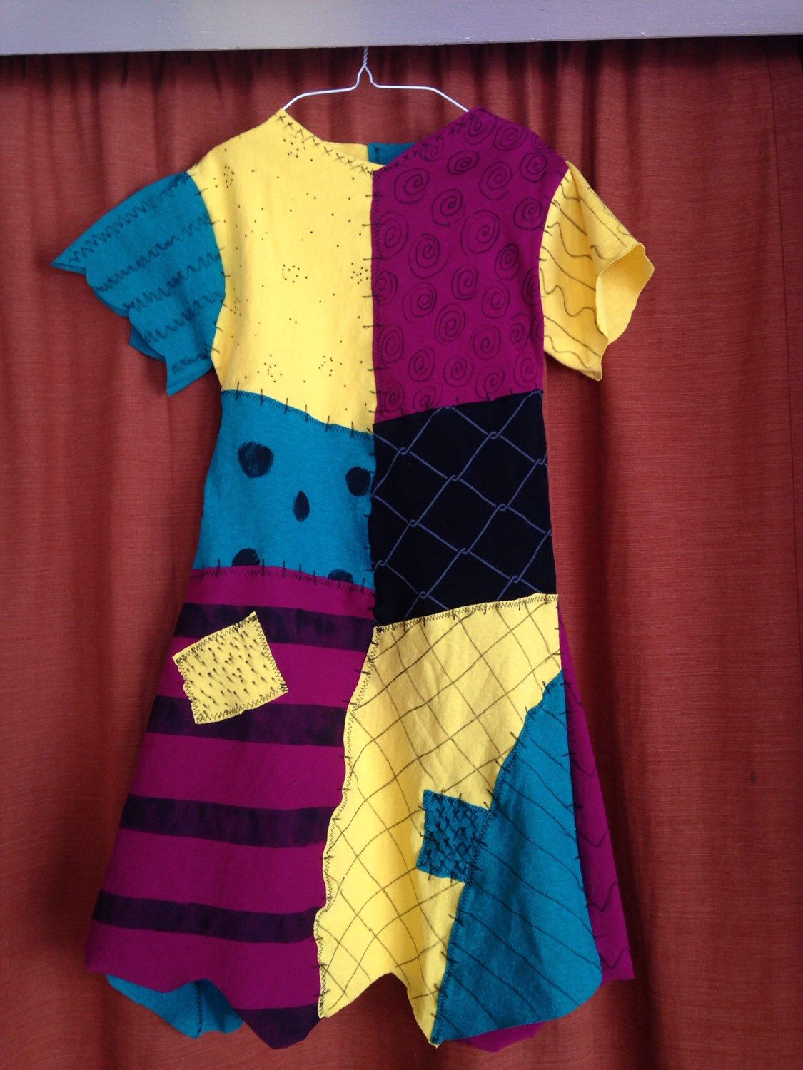 Sally Dress Nightmare Before Christmas Child costume or daily wear ...